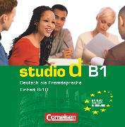 Cover-Bild zu Studio d, Deutsch als Fremdsprache, Grundstufe, B1: Teilband 2, Audio-CD