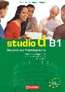 Cover-Bild zu Studio d, Deutsch als Fremdsprache, Grundstufe, B1: Teilband 1, Kurs- und Übungsbuch mit Lerner-Audio-CD, Hörtexte der Übungen von Christiany, Carla