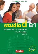 Cover-Bild zu Studio d, Deutsch als Fremdsprache, Grundstufe, B1: Teilband 2, Kurs- und Übungsbuch mit Lerner-Audio-CD, Hörtexte der Übungen von Christiany, Carla