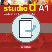 Cover-Bild zu Studio d, Deutsch als Fremdsprache, Grundstufe, A1: Gesamtband, Kurs- und Übungsbuch mit Lerner-Audio-CD und Sprachtraining, 20707-9 und 20708-6 im Paket von Bayerlein, Oliver