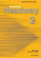 Cover-Bild zu American Headway 2: Teacher's Resource Book von Soars, Liz