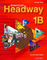 Cover-Bild zu American Headway 1: Student Book B von Soars, Liz