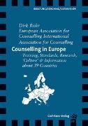 Cover-Bild zu Counselling in Europe von Rohr, Dirk
