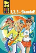 Cover-Bild zu Die drei !!!, 1,2,3 - Skandal! von von Vogel, Maja