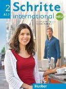 Cover-Bild zu Schritte international Neu 2. A1/2. Kursbuch + Arbeitsbuch mit Audio-CD von Niebisch, Daniela