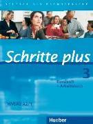 Cover-Bild zu Schritte plus 3. A2/1. Kursbuch + Arbeitsbuch von Hilpert, Silke