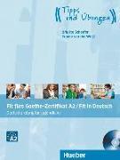 Cover-Bild zu Fit fürs Goethe-Zertifikat A2 / Fit in Deutsch. Lehrbuch mit Audio-CD von Schaefer, Brigitte