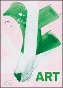 Cover-Bild zu Art Kalender 2022 - Malerei heute - DUMONT Kunst-Kalender - Poster-Format 50 x 70 cm von DUMONT Kalender (Hrsg.)