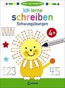 Cover-Bild zu Wisch und wieder weg - Ich lerne schreiben 4+ von Loewe Lernen und Rätseln (Hrsg.)