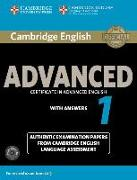 Cover-Bild zu Cambridge English Advanced 1. Student's Book Pack with Answers