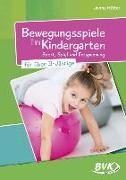 Cover-Bild zu Bewegungsspiele im Kindergarten für Über-3-Jährige von Hütter, Jenny