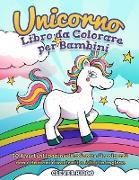 Cover-Bild zu Unicorno libro da colorare per bambini von Clever Kiddo