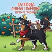 Cover-Bild zu Fattoria animali bambini libro di colorare von Young Dreamers Press