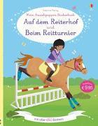 Cover-Bild zu Mein großes Anziehpuppen-Stickerbuch: Auf dem Reiterhof und Beim Reitturnier von Bowman, Lucy