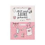 Cover-Bild zu Rezeptbuch zum Selberschreiben in rosa von Wirth, Lisa