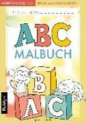 Cover-Bild zu ABC lernen - Das ABC Malbuch der Tiere zum Lernen, Malen und Spaß haben von Wirth, Lisa