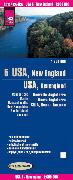 Cover-Bild zu World Mapping Project USA 05 Neuengland 1 : 600 000. 1:600'000
