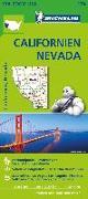 Cover-Bild zu Michelin Zoomkarte Californien-Nevada 1 : 1 267 200
