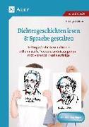 Cover-Bild zu Dichtergeschichten lesen & Sprache gestalten von Moers, Edelgard