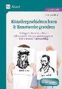 Cover-Bild zu Künstlergeschichten lesen & Kunstwerke gestalten von Moers, Edelgard