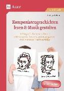 Cover-Bild zu Komponistengeschichten lesen & Musik gestalten von Moers, Edelgard