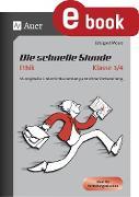 Cover-Bild zu Die schnelle Stunde Ethik Kl.3-4 (eBook) von Moers, Edelgard