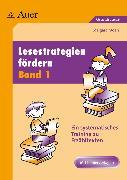 Cover-Bild zu Lesestrategien fördern 1 von Moers, Edelgard
