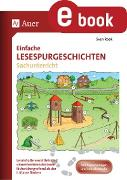 Cover-Bild zu Einfache Lesespurgeschichten Sachunterricht (eBook) von Rook, Sven
