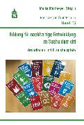 Cover-Bild zu Bildung für nachhaltige Entwicklung im Sachunterricht (eBook) von Wulfmeyer, Meike (Hrsg.)