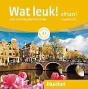 Cover-Bild zu Wat leuk! aktuell A2. 2 Audio-CDs von Dibra, Desiree