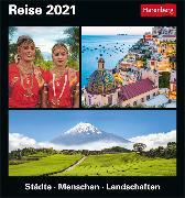 Cover-Bild zu Reise Kalender 2021 von Pollmann, Bernhard