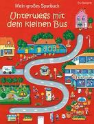 Cover-Bild zu Mein großes Spurbuch - Unterwegs mit dem kleinen Bus von Spanjardt, Eva (Illustr.)