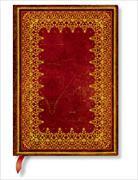 Cover-Bild zu Klapp-Version aus Faux Leder. Gold Midi liniert