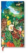Cover-Bild zu Naturcollagen Garten im Mondschein Schlank liniert