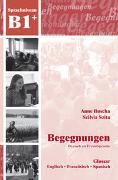 Cover-Bild zu Begegnungen Deutsch als Fremdsprache B1+: Glossar von Buscha, Anne