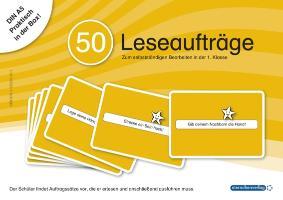 Cover-Bild zu 50 Leseaufträge in der Box von Langhans, Katrin