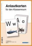 Cover-Bild zu Anlautkarten für den Klassenraum. Druckschrift von Langhans, Katrin