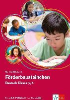 Cover-Bild zu Förderbausteinchen Deutsch Klasse 3/4 von Goßmann, Martina