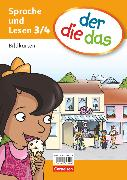 Cover-Bild zu der-die-das, Deutsch-Lehrwerk für Grundschulkinder mit erhöhtem Sprachförderbedarf, Sprache und Lesen, 3./4. Schuljahr, Bildkarten im Paket