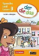 Cover-Bild zu der-die-das, Deutsch-Lehrwerk für Grundschulkinder mit erhöhtem Sprachförderbedarf, Sprache und Lesen, 3. Schuljahr, Kopiervorlagen mit CD-ROM von Koenen, Marlies