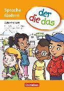 Cover-Bild zu der-die-das, Deutsch-Lehrwerk für Grundschulkinder mit erhöhtem Sprachförderbedarf, Sprache fördern, Arbeitsheft von Behle-Saure, Birgit