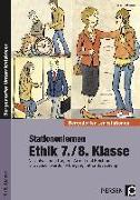 Cover-Bild zu Stationenlernen Ethik 7./8. Klasse von Röser, Winfried