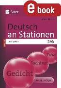 Cover-Bild zu Deutsch an Stationen SPEZIAL Textsorten 5-6 (eBook) von Röser, Winfried