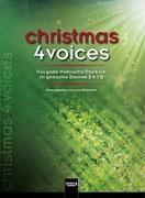 Cover-Bild zu christmas 4 voices von Maierhofer, Lorenz (Hrsg.)