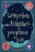 Cover-Bild zu Ueberreuter Lesebuch Kinder- und Jugendbuch Frühjahr 2016 (eBook) von Schumacher, Jens