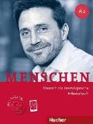 Cover-Bild zu Menschen A2. Arbeitsbuch mit 2 Audio-CDs von Breitsameter, Anna