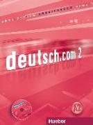 Cover-Bild zu deutsch.com 2. Arbeitsbuch Kroatisch von Breitsameter, Anna
