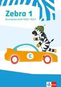 Cover-Bild zu Zebra 1. Buchstabenheft Plus Klasse 1