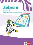 Cover-Bild zu Zebra 4. Lesehefte Klasse 4