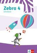 Cover-Bild zu Zebra 4. Lehrerband zum Verbrauchsmaterial Klasse 4